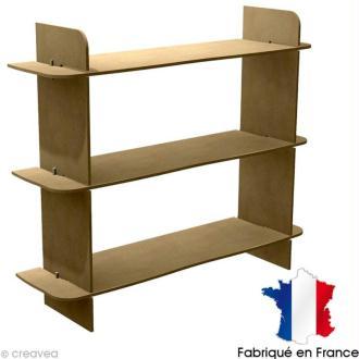 Kit étagère en bois à décorer