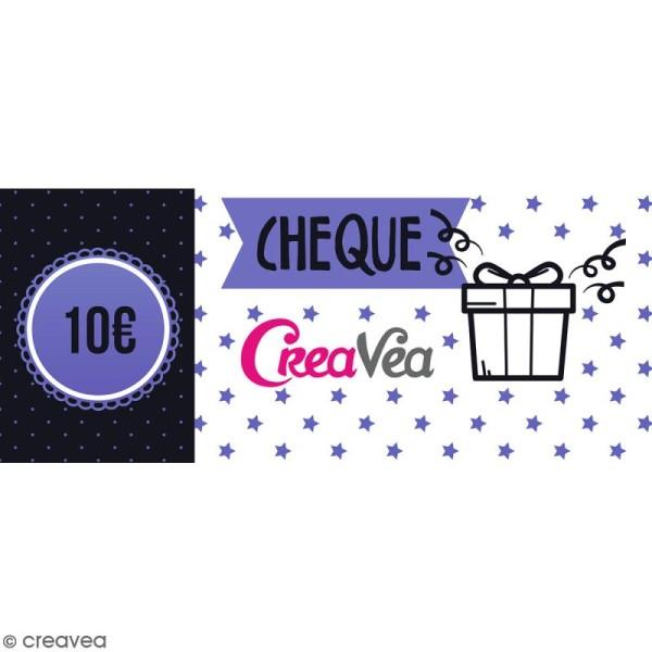 Chèque cadeau 10 euros - Photo n°1