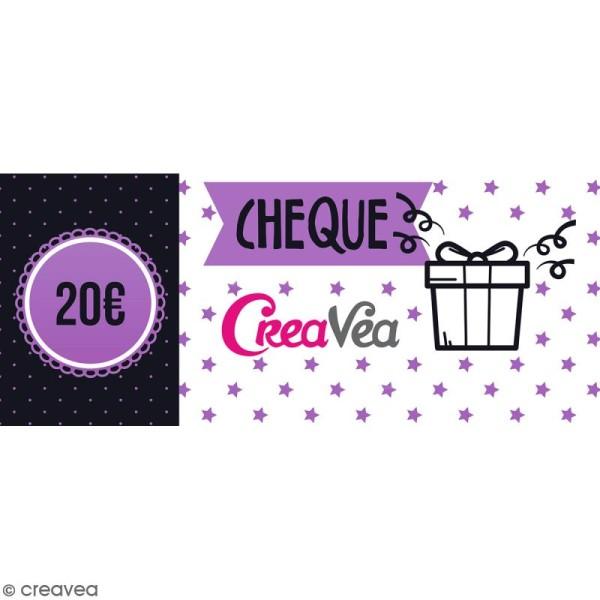 Chèque cadeau 20 euros - Photo n°1
