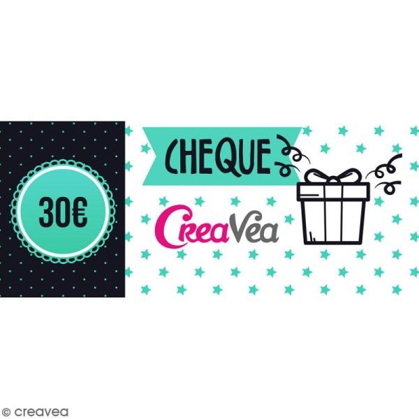 Chèque cadeau 30 euros - Photo n°1