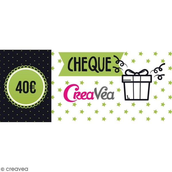 Chèque cadeau 40 euros - Photo n°1