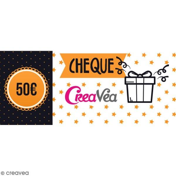 Chèque cadeau 50 euros - Photo n°1