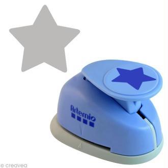 Perforatrice géante étoile - 5 cm