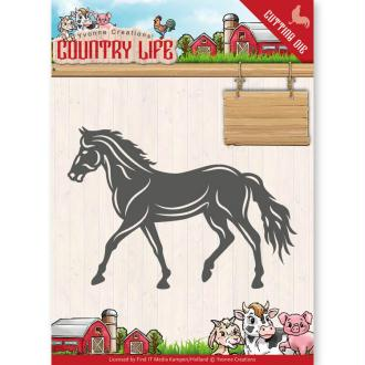 Dies Yvonne Creations - Country Life Horse