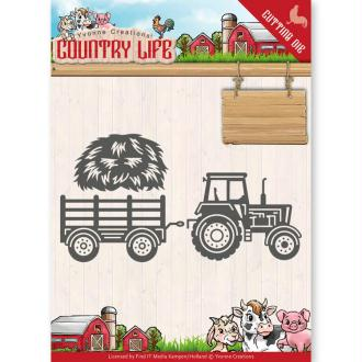 Dies Yvonne Creations - Country Life Tractor
