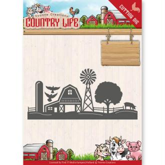 Dies Yvonne Creations - Country Life Farm border