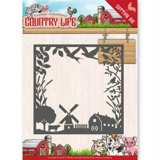 Dies Yvonne Creations - Country Life Frame