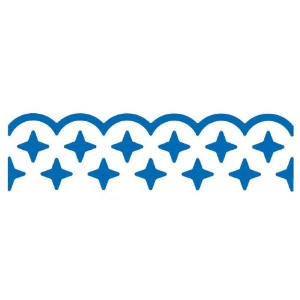 Perforatrice bordure étoiles - 4 cm - Photo n°1