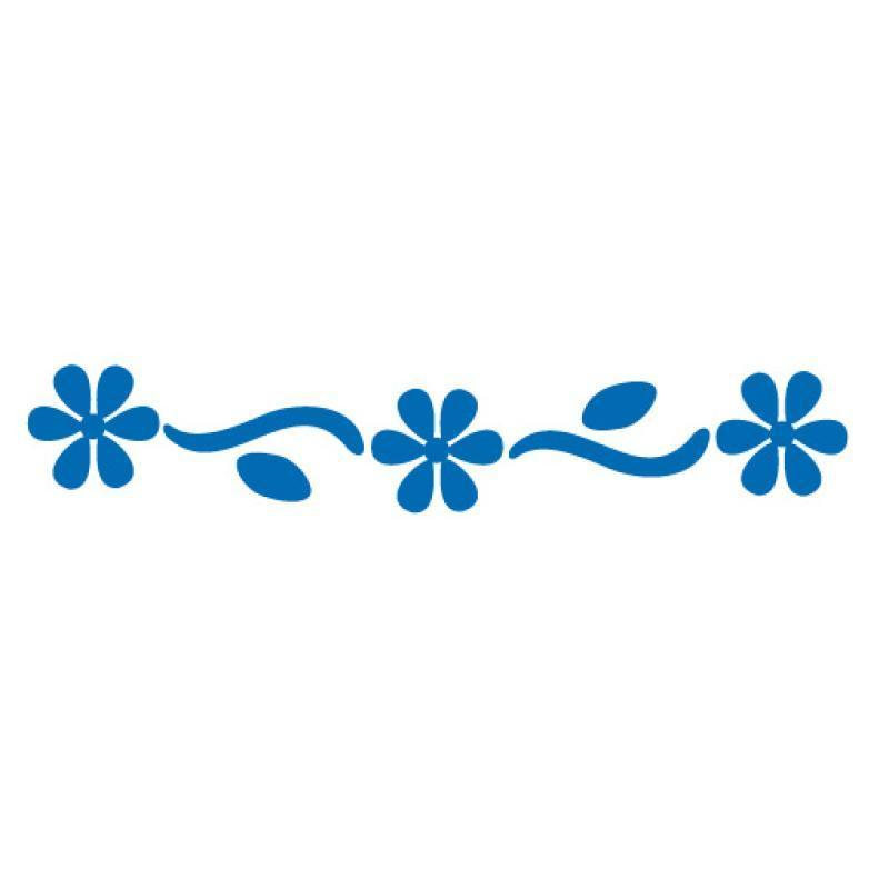 perforatrice bordure fleurs camomille 4 cm perforatrice bordure creavea. Black Bedroom Furniture Sets. Home Design Ideas
