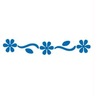 Perforatrice bordure fleurs camomille - 4 cm
