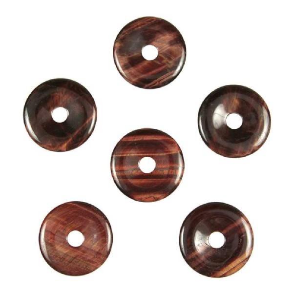 Donut Pi Chinois en oeil de boeuf pour pendentif. - Photo n°3