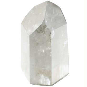 Pointe polie mono-terminée en cristal de roche - Poids 61 à 80 grammes