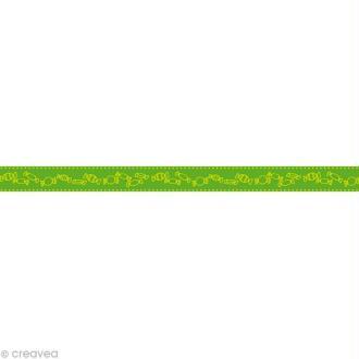 Masking tape Kids - Bonbons Vert 10 mm x 10 m