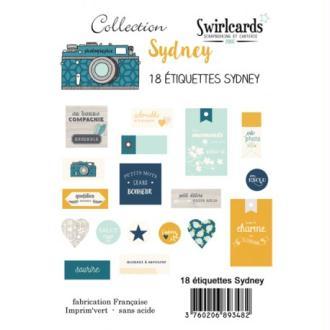 Etiquettes Sydney 18 pcs – Swirlcards