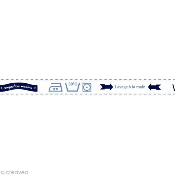 Masking tape Boy - Lessive Blanc 15 mm x 10 m - Photo n°1