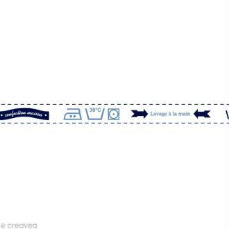 Masking tape Boy - Lessive Blanc 15 mm x 10 m