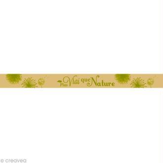 Masking tape - Plus vrai que Nature Beige 15 mm x 10 m