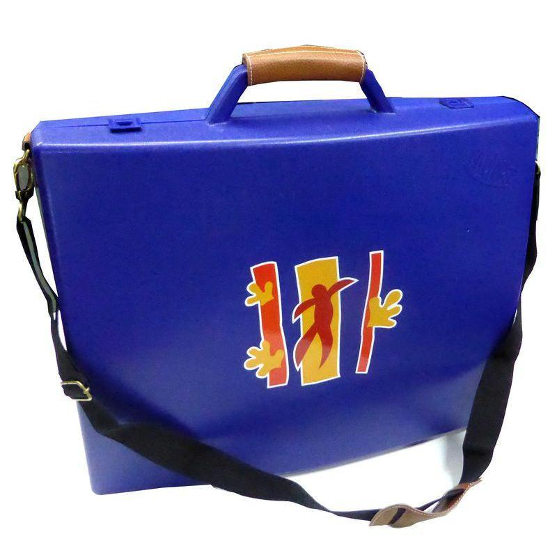 Mallette bleue avec kit de rangement rangement atelier for Accessoire de rangement cuisine
