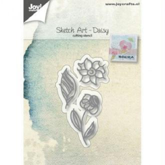 Die Joy Crafts - Sketch art Daisy