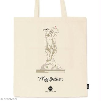 Tote bag Collection Montpellier - Les 3 Grâces - 36 x 42 cm