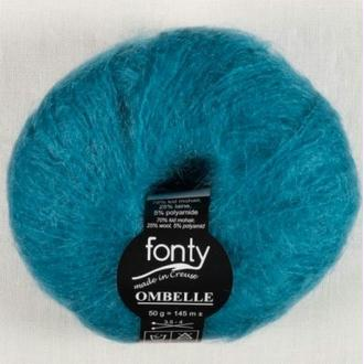 Ombelle, Coloris Turquoise N°1056