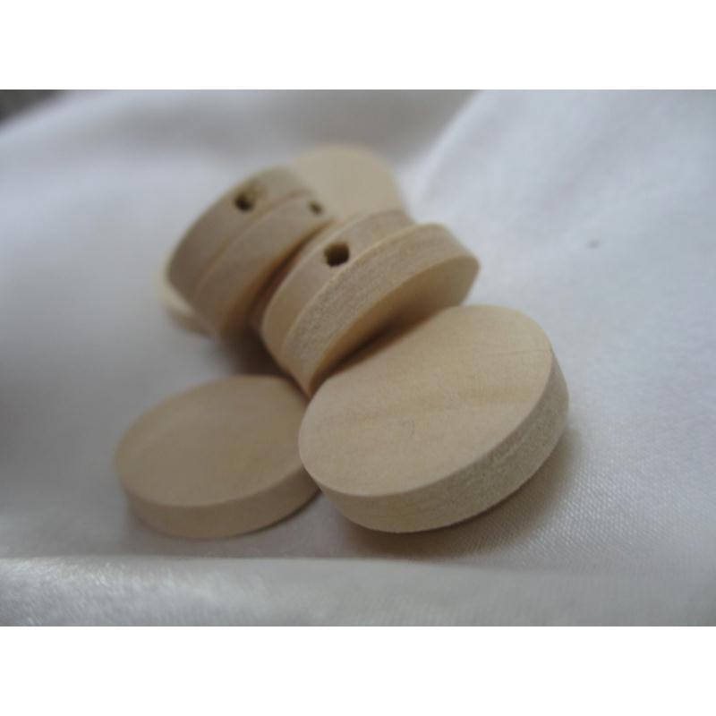 perles plates bois naturel 20mm type palet 5 pi ces. Black Bedroom Furniture Sets. Home Design Ideas
