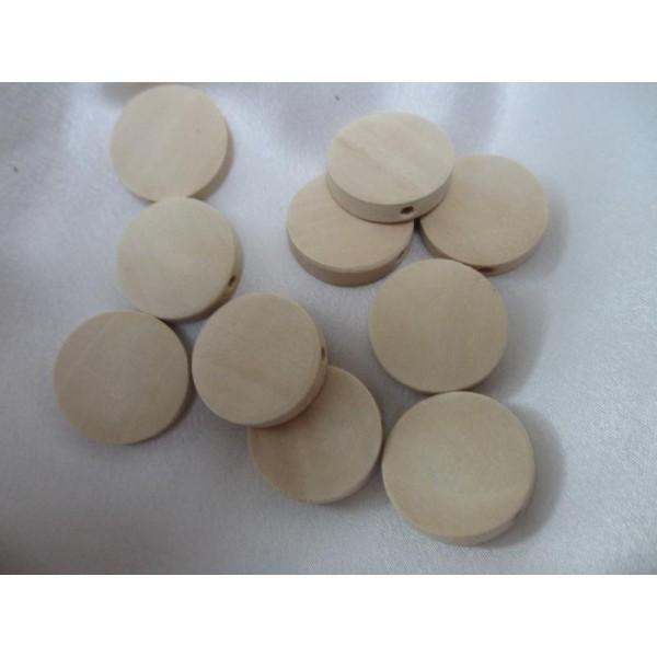 """Lot de 4 perles de verre Forme /"""" Mure /"""" 20 mm"""