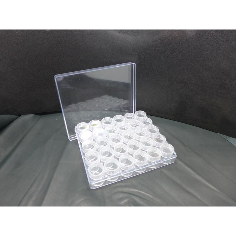 boite de rangement perles scrapbooking avec 30 boites. Black Bedroom Furniture Sets. Home Design Ideas
