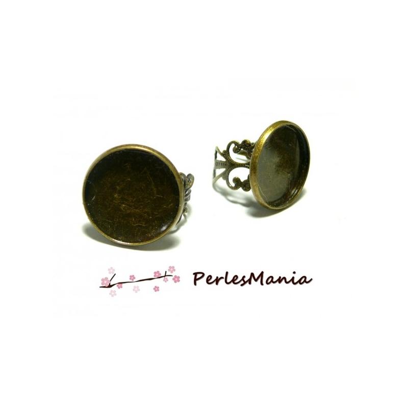 Pax 10 supports bagues 12mm bronze anneau dentelle 2d8403 for Bagues dentaires interieur