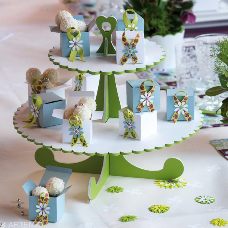 Pr sentoir cupcakes d corer 32 cm ustensile cuisine for Presentoir ustensile cuisine