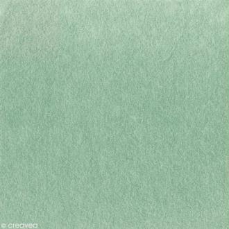 Feutrine épaisse 2 mm 30 x 30 cm Vert bleuté