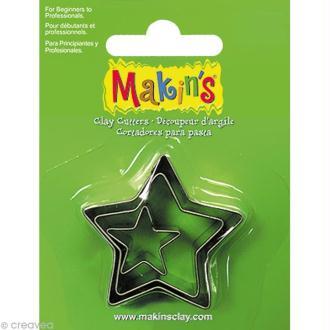 Emporte-pièces Makin's Clay Etoile - 3 pcs