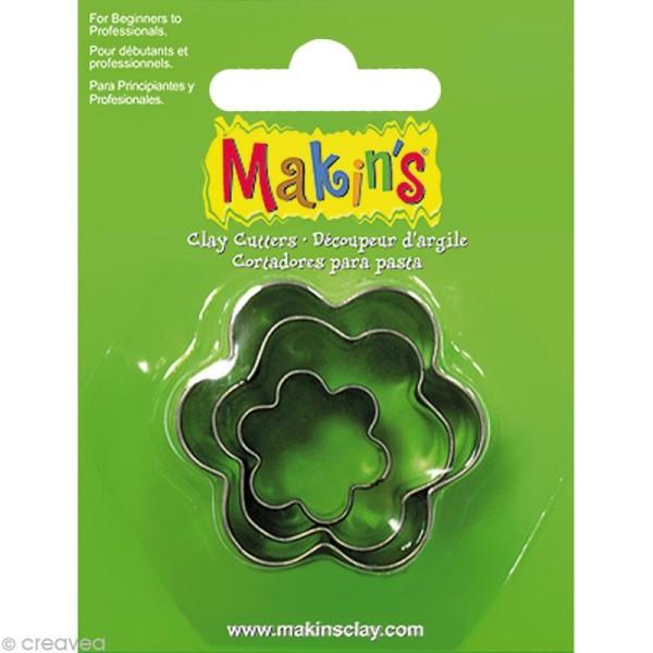 Emporte-pièces Makin's Clay Fleur - 3 pcs - Photo n°1