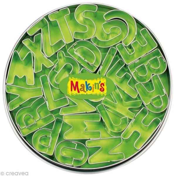 Emporte-pièces Makin's Clay set Alphabet - 26 pcs - Photo n°1