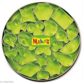 Emporte-pièces Makin's Clay set Formes géométriques - 22 pcs
