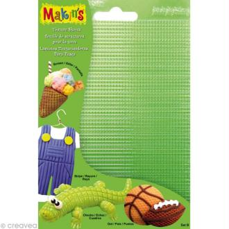 Plaque de texture Makin's Clay - Set B de 4 pcs