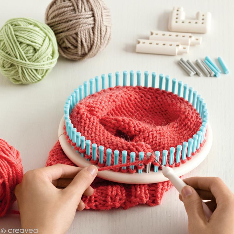 tricotin martha stewart m tier tisser et tricoter tricotin manuel creavea. Black Bedroom Furniture Sets. Home Design Ideas