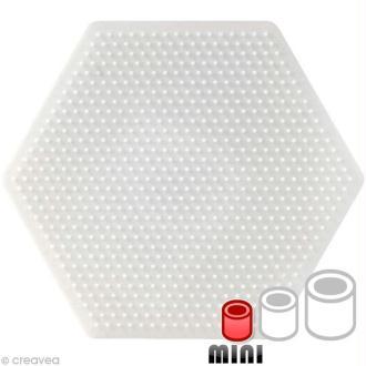 Plaque pour perles Hama Mini - Hexagone
