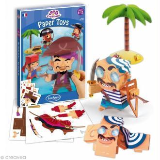 Jeu Art & Créations - Paper toys - Pirates