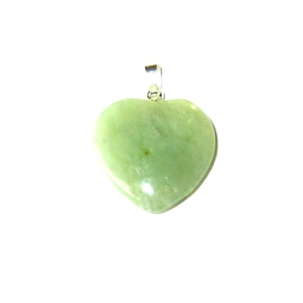 bas prix 6d4c8 61ec6 Pendentif Jade - Petit cœur