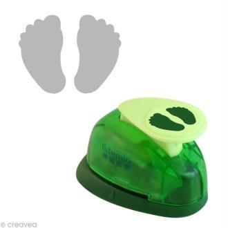 Perforatrice PM pieds de bébé - 1.6 cm