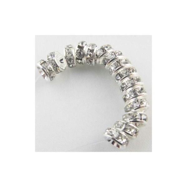 Argente 5 mm Lot 30 PERLE METAL STARDUST 5mm Argenté Creation Bijoux bracelet