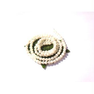 Nacre : 20 MICRO perles irrégulières 3 MM