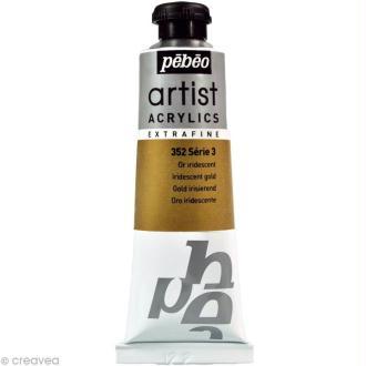 Peinture Artist Acrylics - Iridescent Or 37 ml