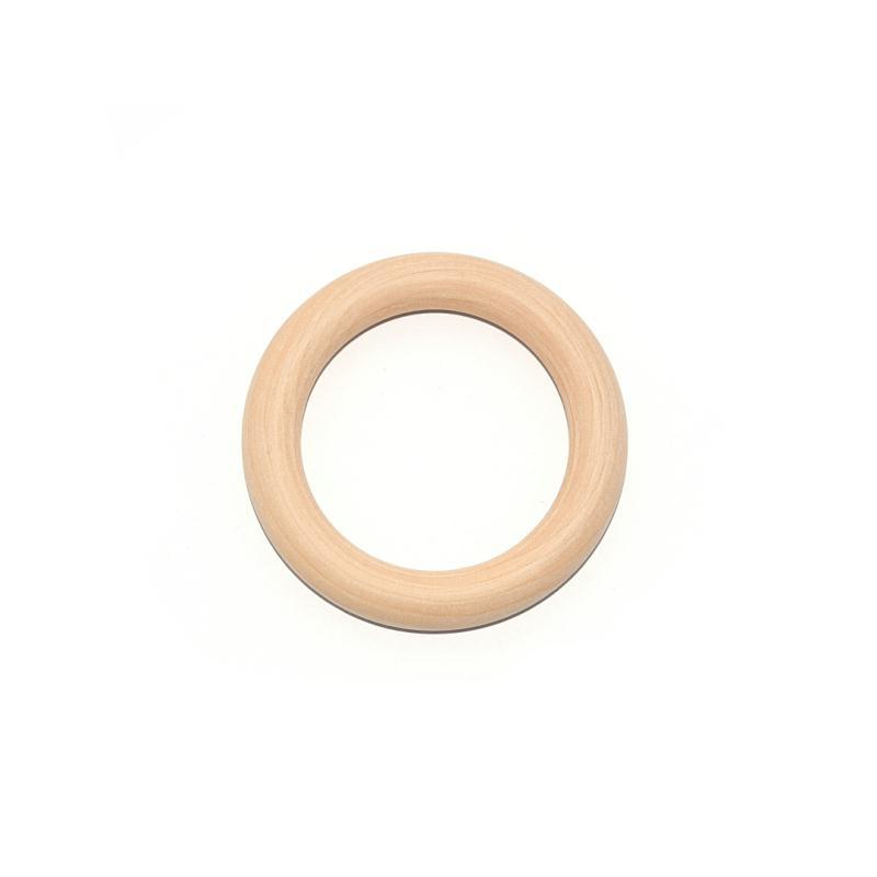 anneau de dentition en bois 70 mm anneau de dentition creavea. Black Bedroom Furniture Sets. Home Design Ideas
