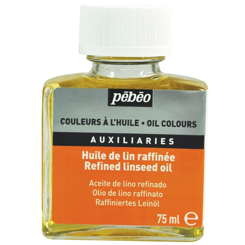 P b o huile de lin raffin e pour couleur l 39 huile for Huile de lin cuisine