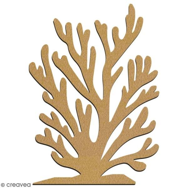 Algue en bois à décorer - 7 cm - Collection Sirène - Photo n°2