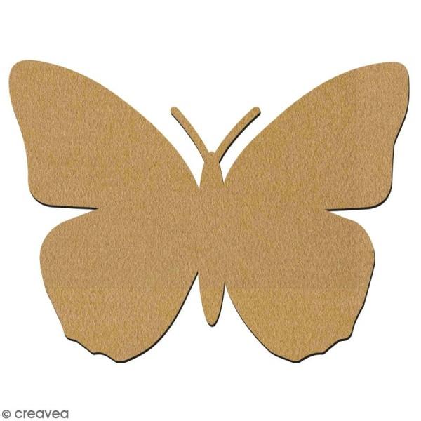 Papillon en bois à décorer - 7 cm - Collection Champêtre - Photo n°2