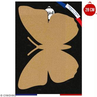 Papillon en bois à décorer - 28 cm - Collection Champêtre