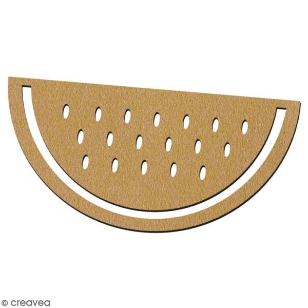 Pastèque en bois à décorer - 7 cm - Collection Summer - Photo n°2